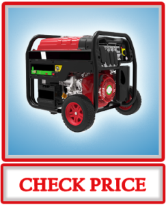 A iPower SUA12000ED 12000 Watt Dual Fuel Portable Generator Propane or Gas EPA CARB Electric Start Instant Energy Switch