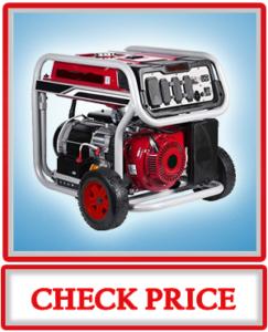 Ai Power SUA12000EC 12000 Watt Gas Powered Generator W Electric Start CARB EPA Wheel Kit Included