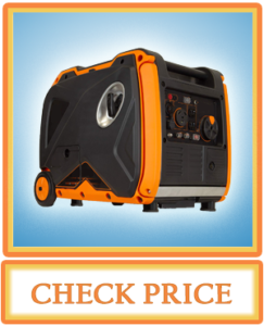 WEN 56380i Super Quiet 3800 Watt Portable Inverter Generator with Fuel Shut Off and Electric Start